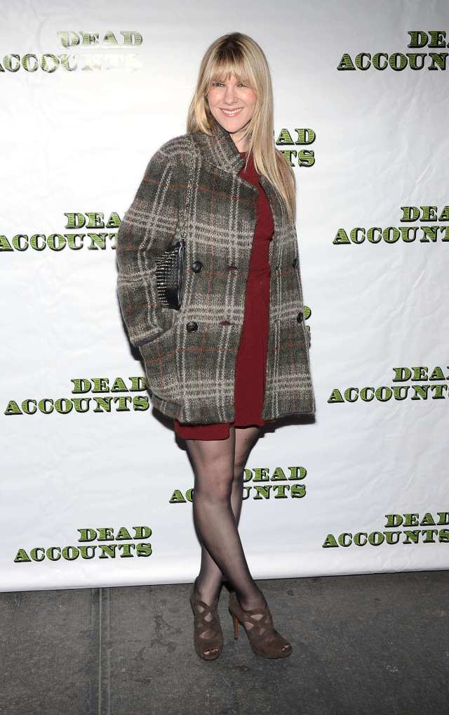 Lily Rabe hot legs pic