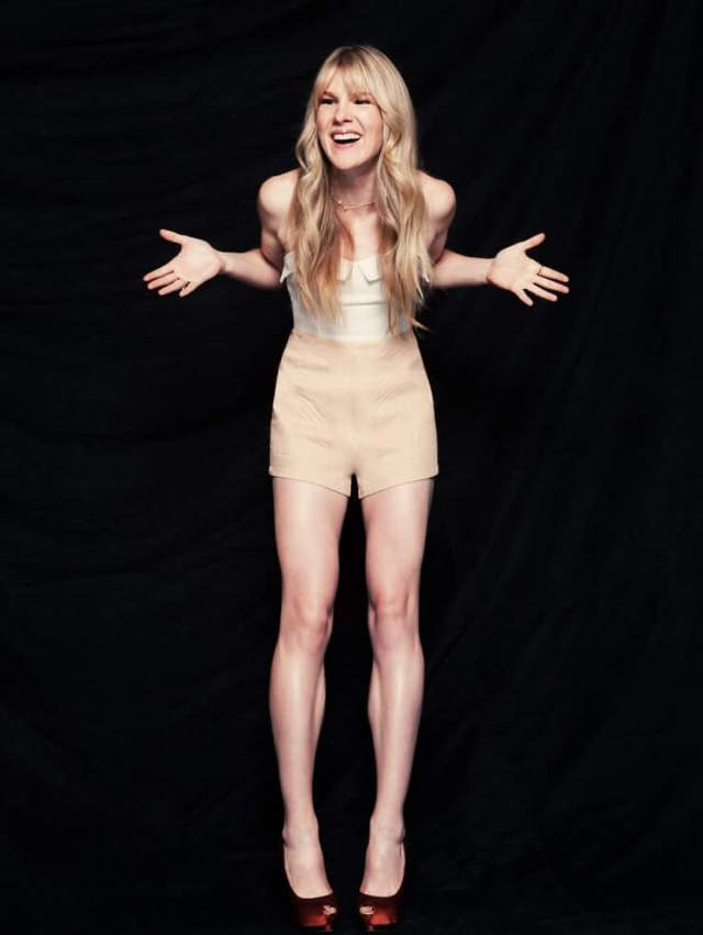 Lily Rabe sexy long legs