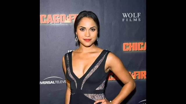 Monica Raymund hot cleavage picture