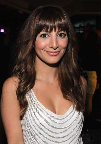 Nasim Pedrad sexy cleavage picture