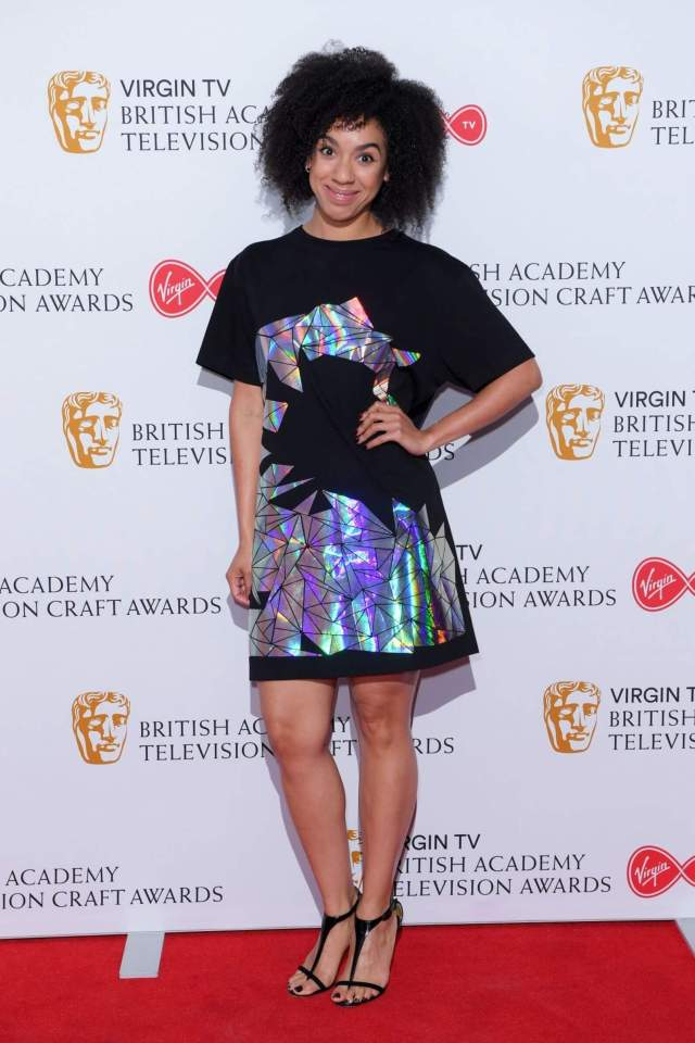 Pearl Mackie sexy legs pic