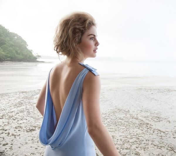 Rose McIver sexy backless