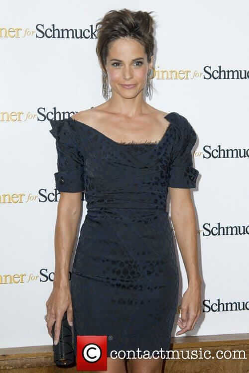 Stephanie Szostak hot black dress (2)