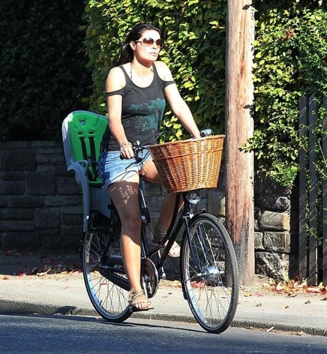 alison king bicycle riding