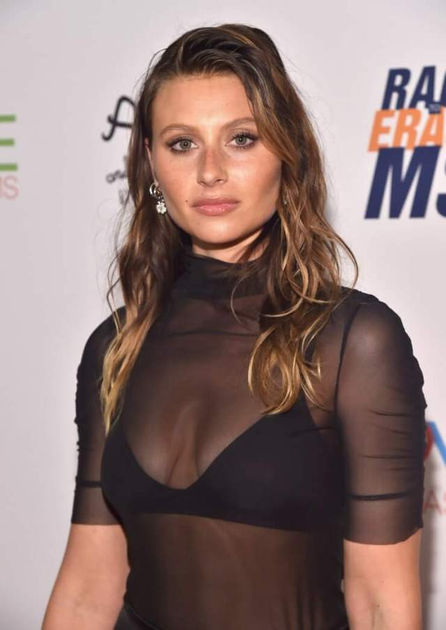 Aly Michalka sexy cleavage pics