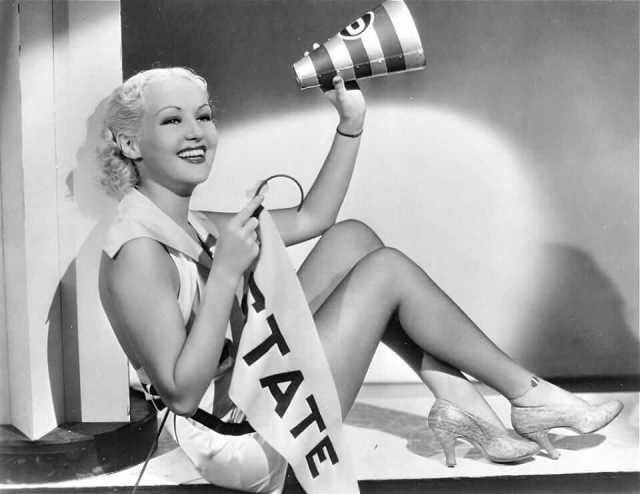 Betty Grable awesome thighs