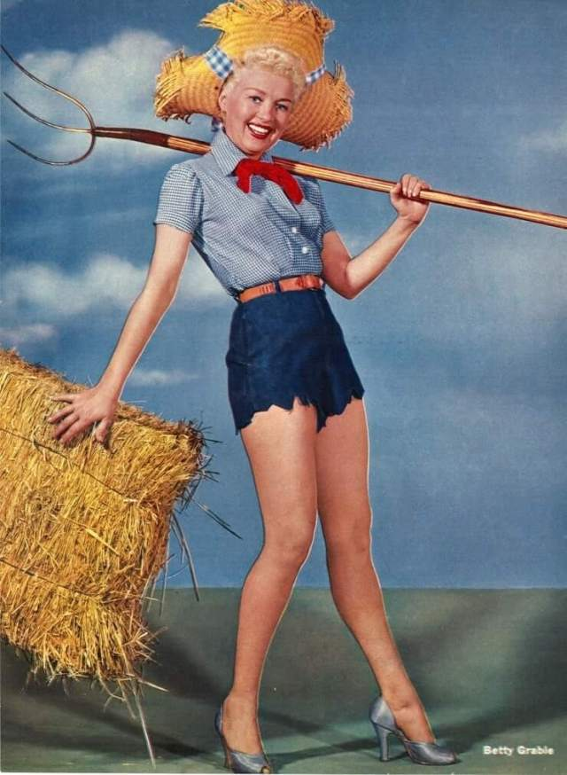 Betty Grable thighs pic