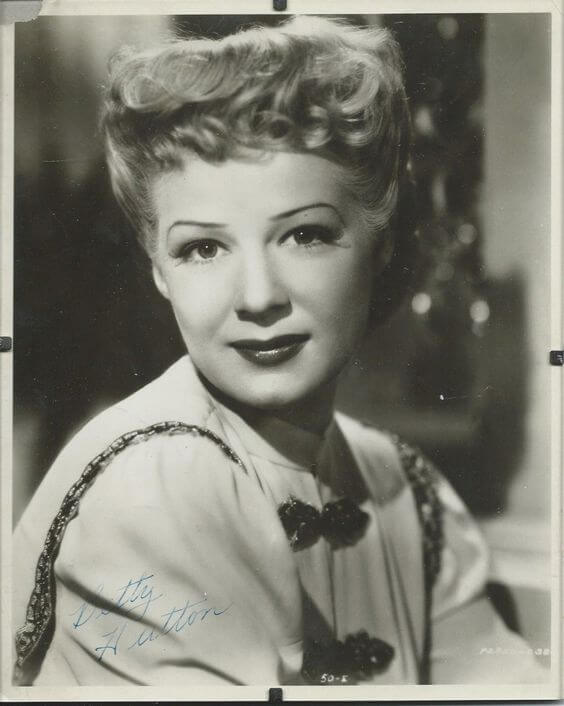 Betty Hutton hot side pic