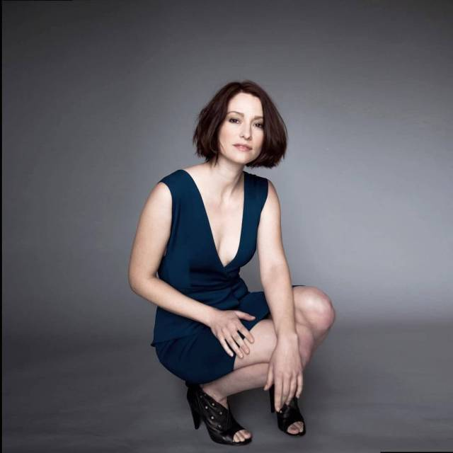 Chyler-Leigh hot cleavage