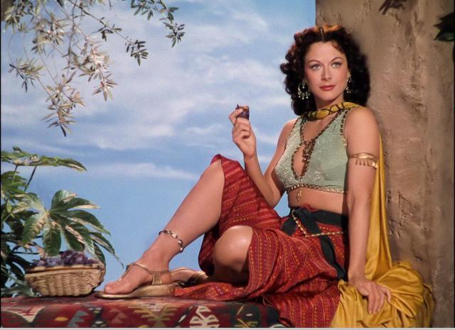 Hedy Lamarr hot side pic (2)