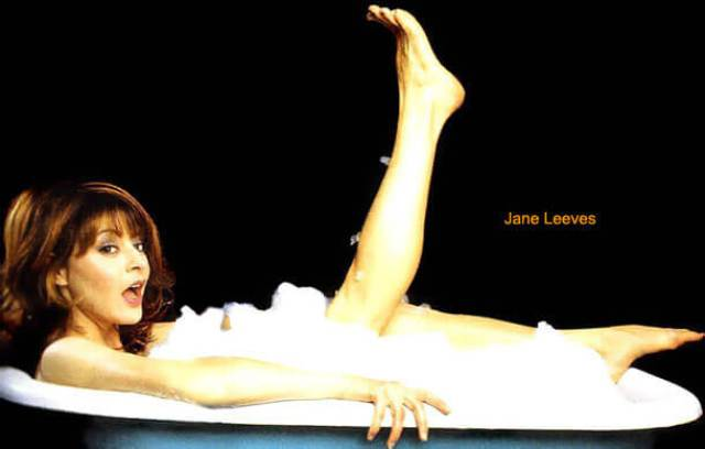 Jane Leeves sexy feets (2)