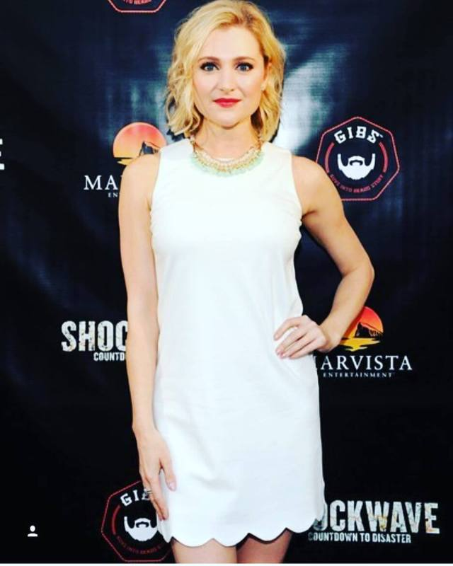 Katherine Bailess white dress pic