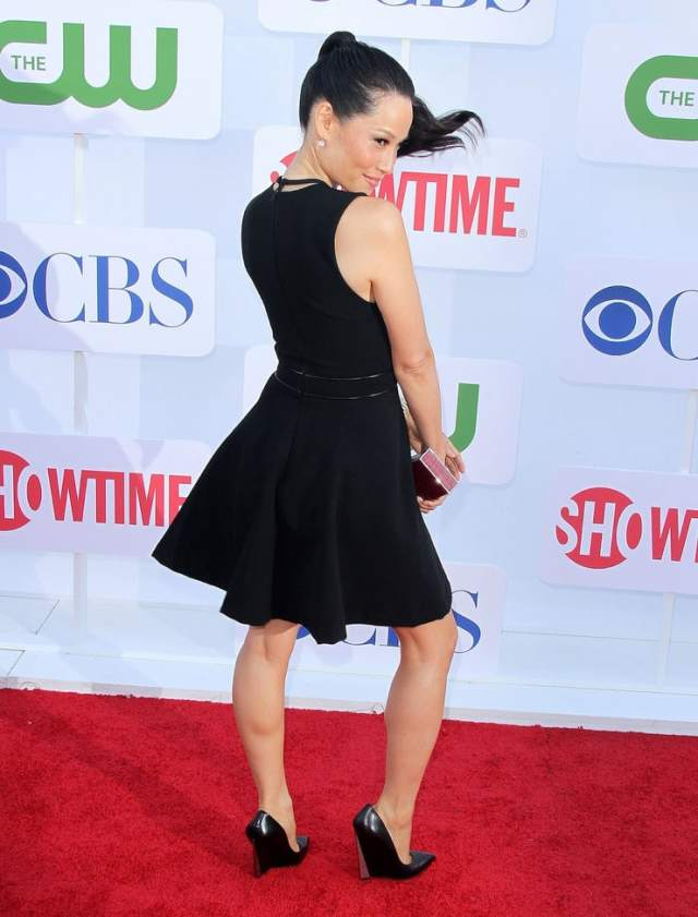 Lucy Liu hot butt pictures