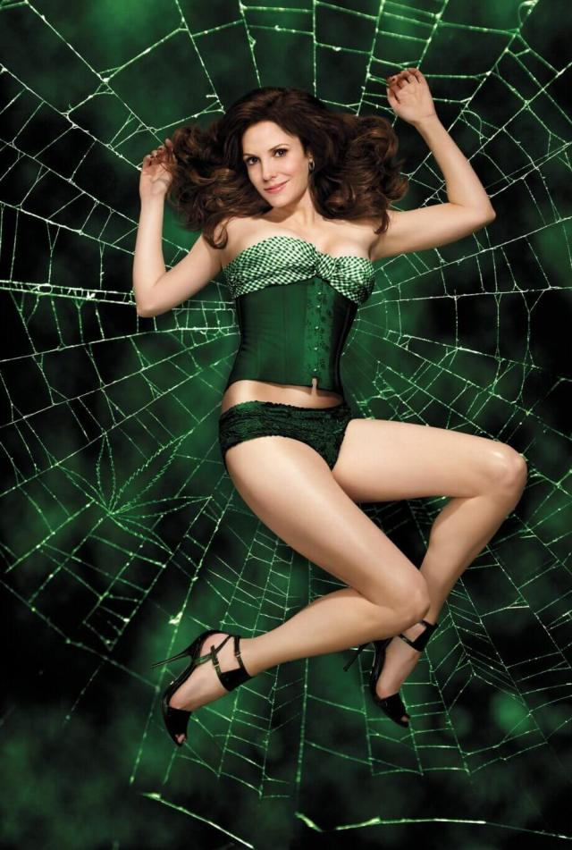 Mary-Louise Parker hot look