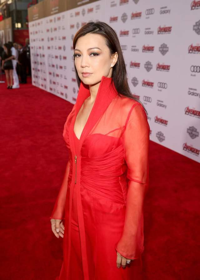 Ming-Na-Wen hot pictures