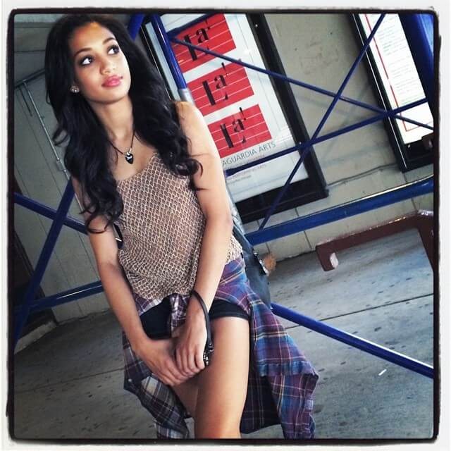 Samantha Logan awesome photo