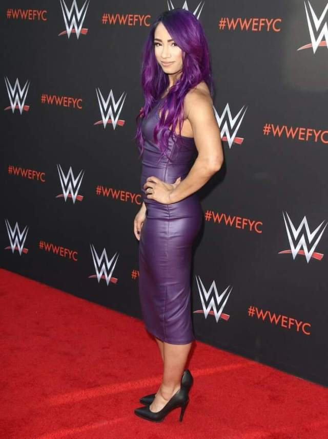 Sasha Banks hot photo