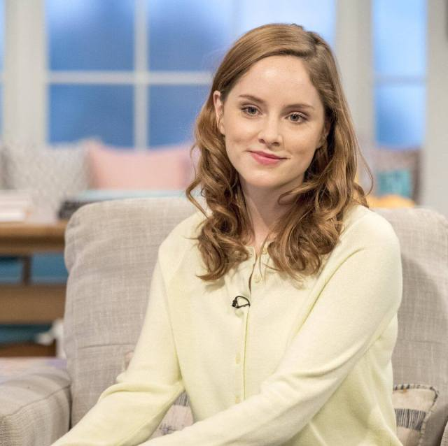 Sophie Rundle hot white dress pic