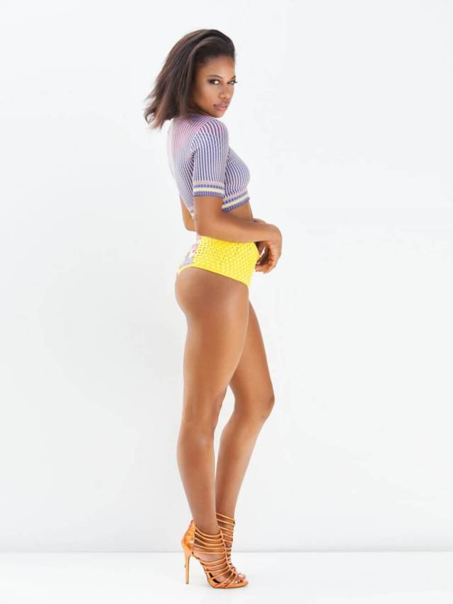 Taylour Paige sexy long legs