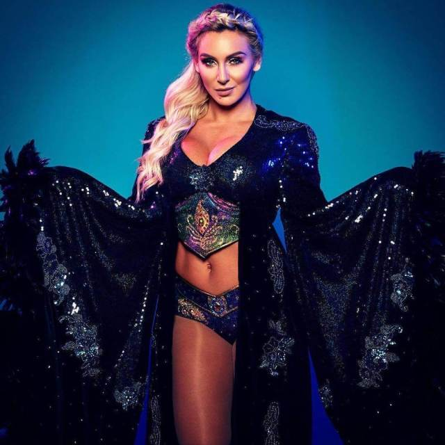 charlotte flair hot busty pictures