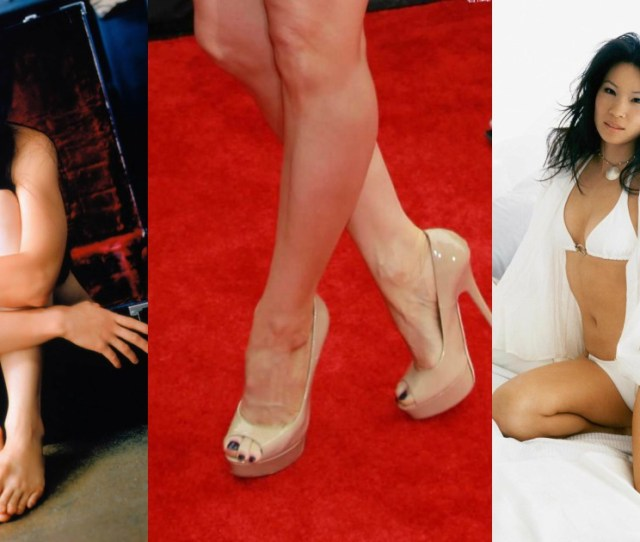 Sexy Lucy Liu Feet Pictures Are Heaven On Earth