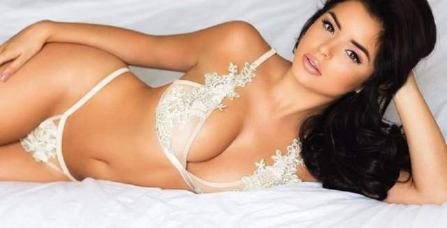 Demi Rose hot cleavage pictures (2)