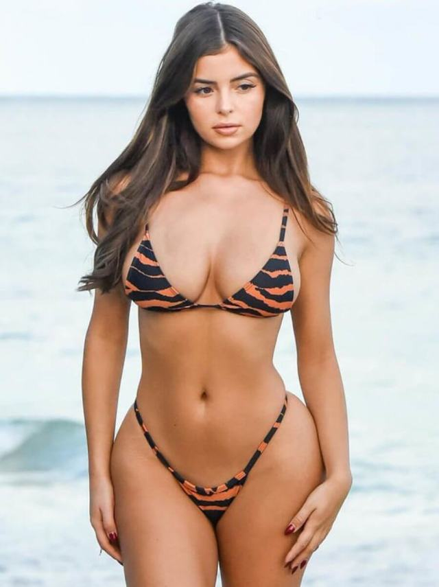 Demi Rose hot cleavage pictures (4)