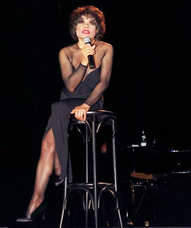 Eartha Kitt feet high heels