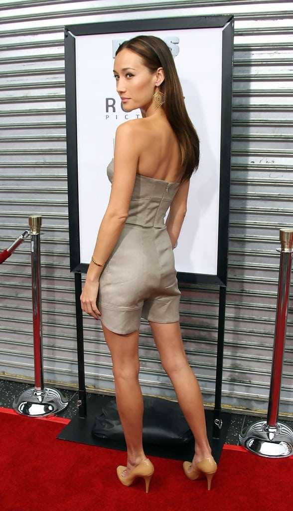 Maggie Q sexy butt pictures (2)