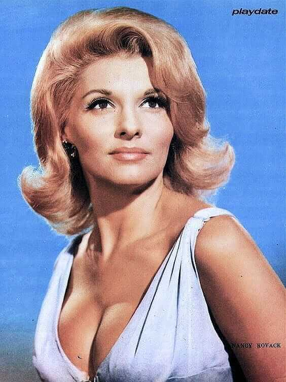 Nancy Kovack boobs hot