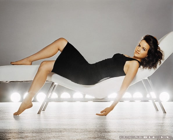 carla gugino Sexy Feet in high heels