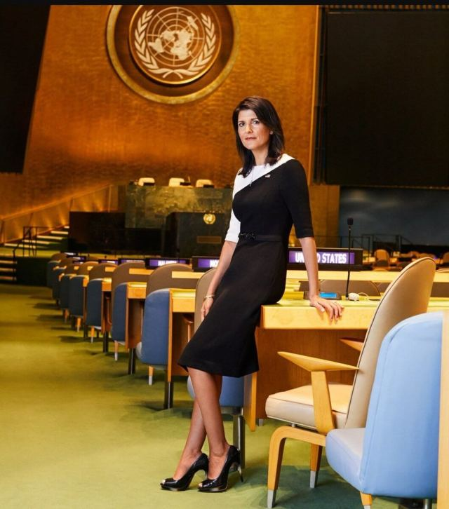 nikki haley hot side pictures