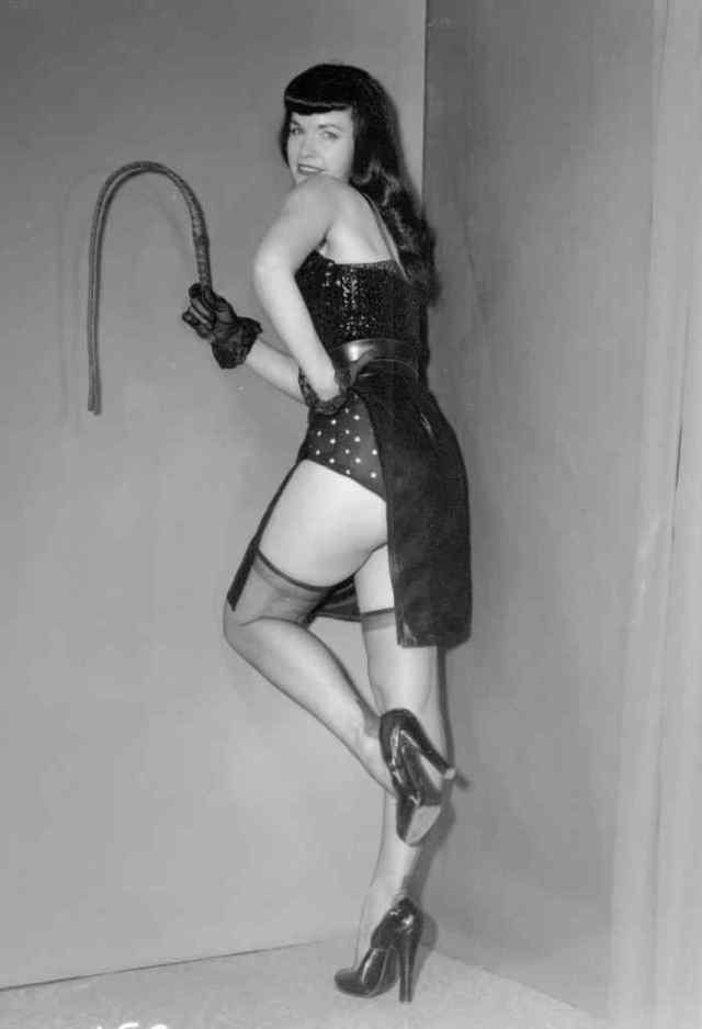 Bettie Page ass