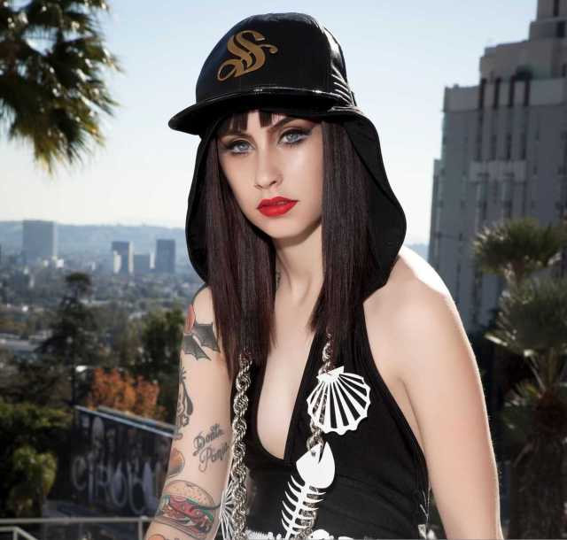 Kreayshawn hot cleavage pictures