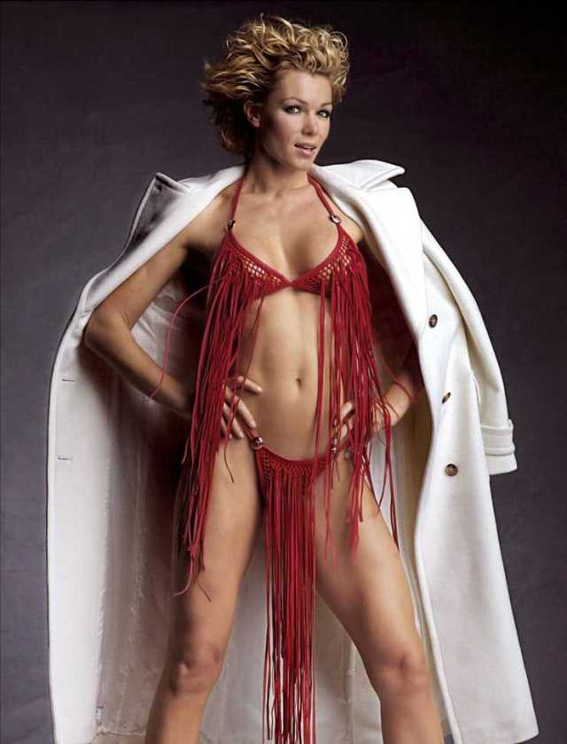 Nell McAndrew sexy lingerie pictures