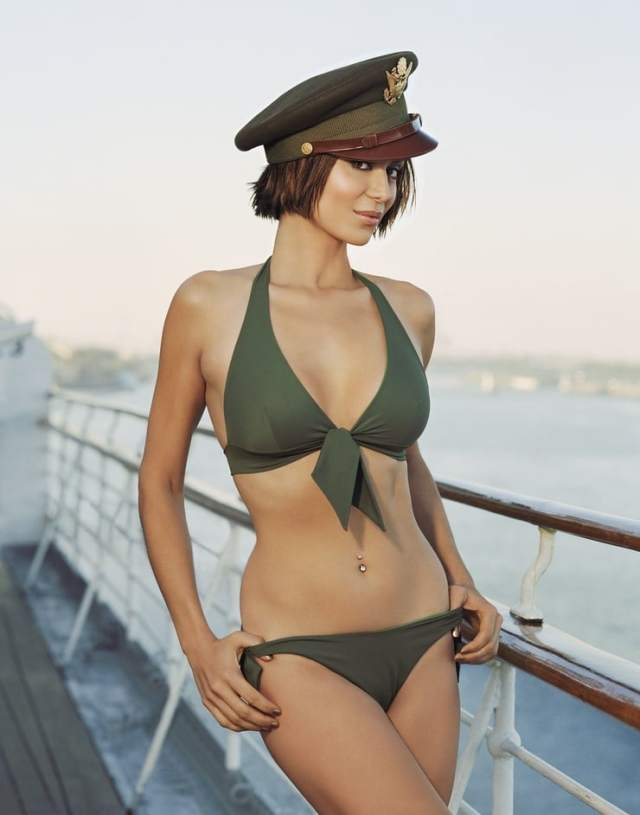 Catherine Bell sexy lingerie