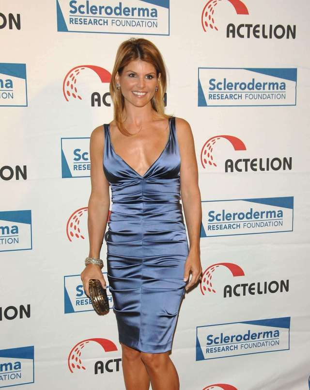 Lori Loughlin hot cleavge pics