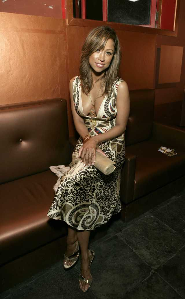 Stacey Dash cleavage pics