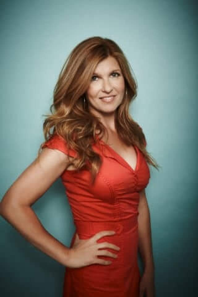 Connie Britton side boobs