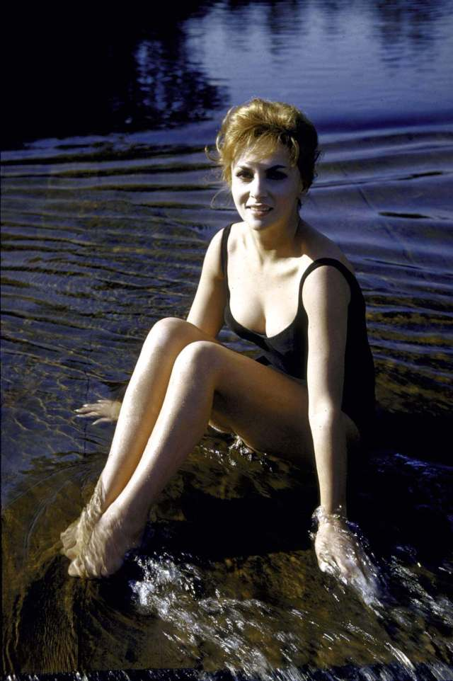 Gina Lollobrigida adorable
