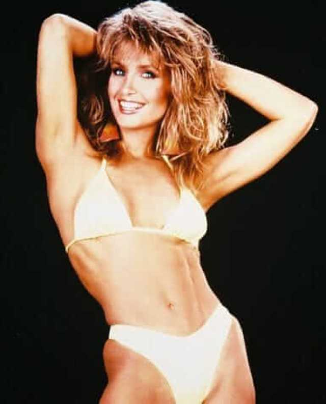 Heather Thomas bikini