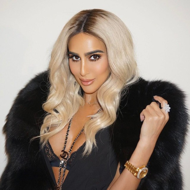 Lilly Ghalichi hot cleavage pics