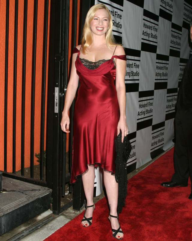 Traci Lords boobs cleavage
