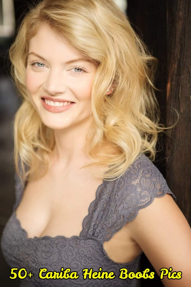 Cariba Heine side boobs
