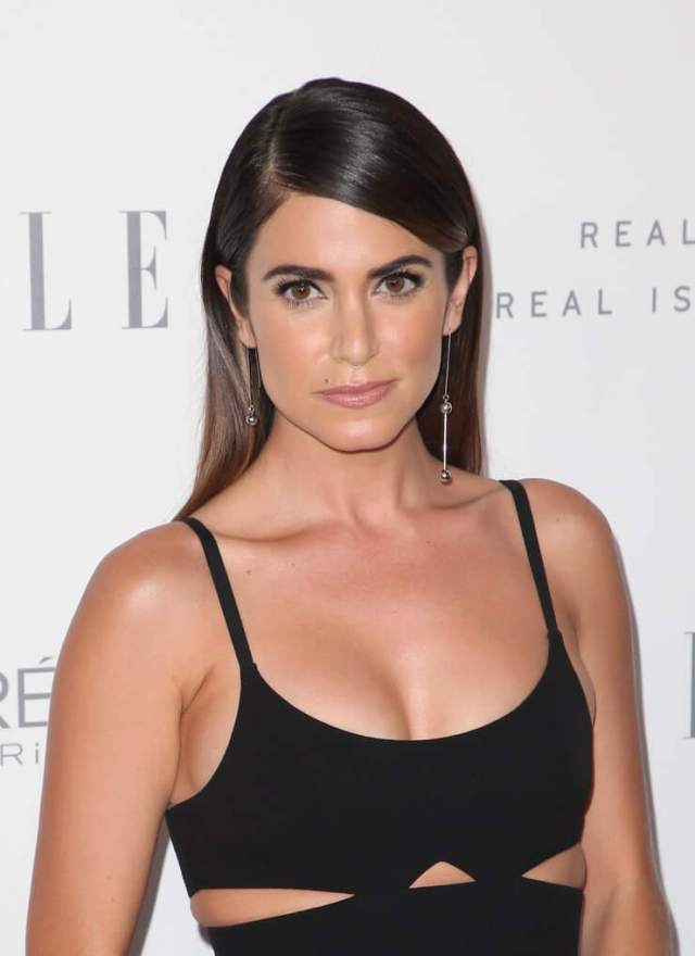 Nikki Reed sexy cleavage