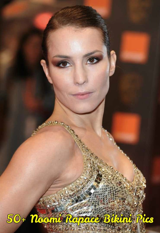 Noomi Rapace side boobs pics
