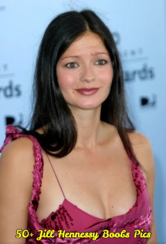 jill hennessy hot cleavage pic