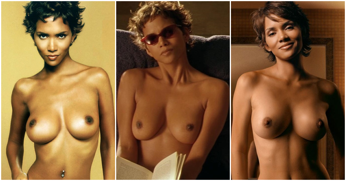 Halle berry modeling nackt