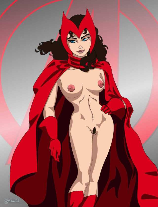 Scarlet Witch topless