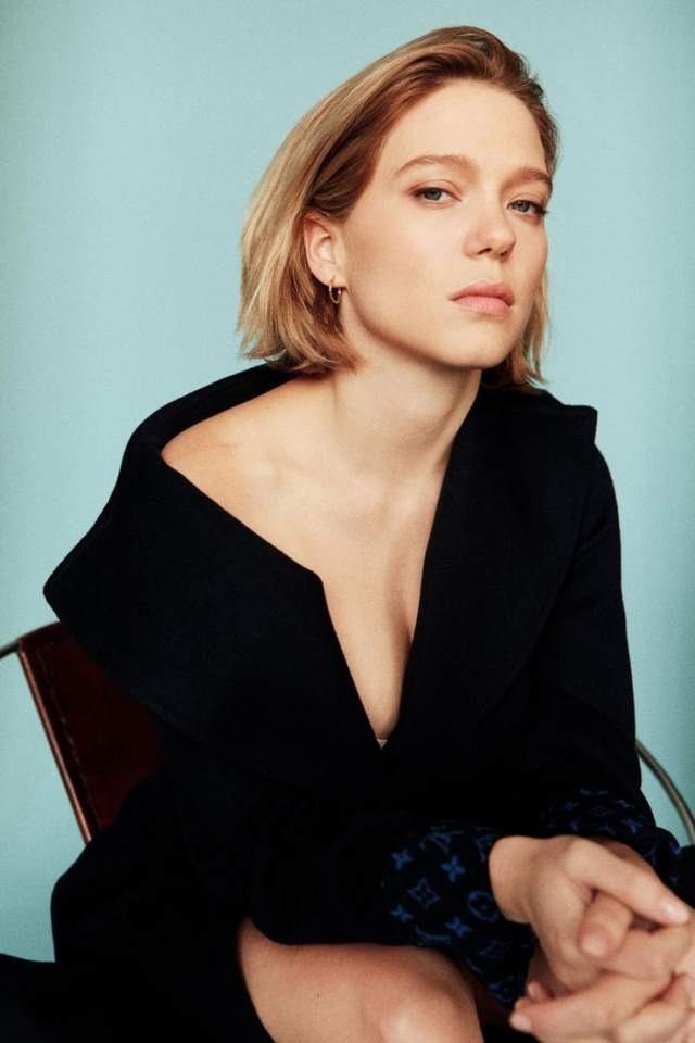lea seydoux cleavage pictures